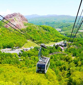 홋카이도 우스산 케이블카 탑승권