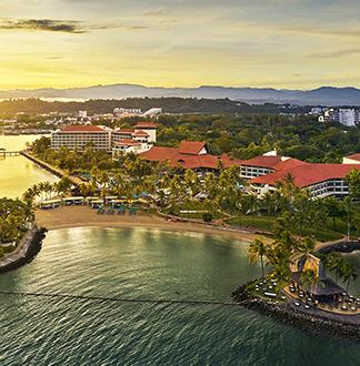 코타키나발루 5성급 샹그릴라 탄중아루 리조트 (Shangri - La s Tanjung Aru Resort / Spa)