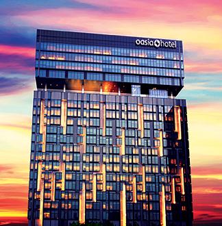 싱가포르 4성급 오아시아 노베나 호텔 (Oasia Novena)