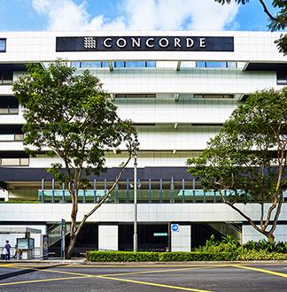 싱가포르 4성급 콩코드 호텔 (Concord Hotel Singapore)
