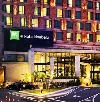 코타키나발루 3성급 이비스 호텔 (Ibis Styles Kota Kinabalu Inanam)