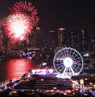방콕 왓사켓 + 마사지 + 선택 투어 (한국어 가능 가이드 포함)