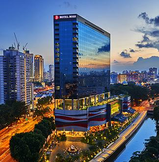싱가포르 3성급 보스 호텔 (Hotel Boss)