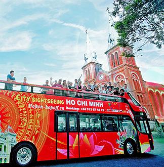 호치민 시티 투어 버스