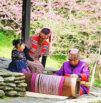 타이중 구족문화촌 + 케이블카 + 르웨탄 유람선 전자 입장권
