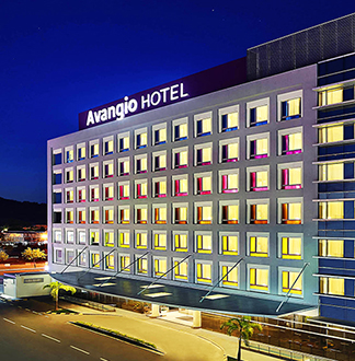 코타키나발루 4성급 아반지오 호텔 (Avangio Hotel kota kinabalu)
