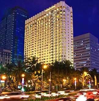 마닐라 5성급 다이아몬드 호텔 (Diamond Hotel)