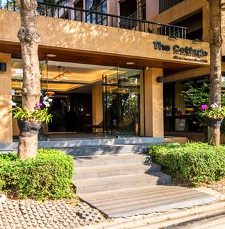 방콕 3성급 더 코티지 수완나품 호텔 (The Cottage Suvarnabhumi Hotel)