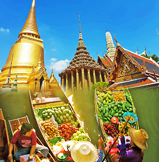 방콕 담넌사두억 + 왕궁 + 새벽사원 투어 (한국어 가능 가이드 포함)
