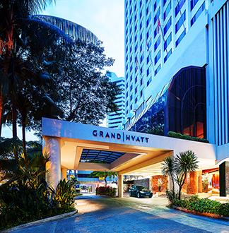 싱가포르 5성급 그랜드 하얏트 호텔 (Grand Hyatt)