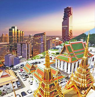 방콕 올드 + 뉴 시티 투어 (한국어 가능 가이드 포함)