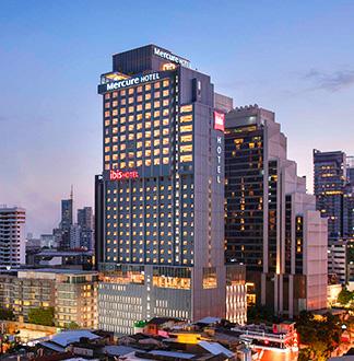 방콕 4성급 머큐어 스쿰빗 24 호텔 (Mercure Bangkok Sukhumvit 21)