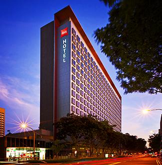 싱가포르 3성급 이비스 벤쿨렌 호텔 (Ibis Bencoolen)