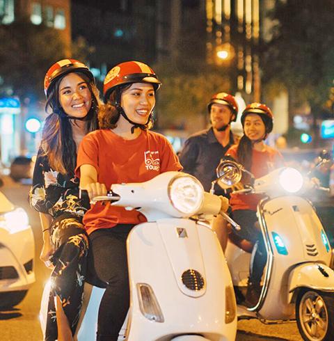 베트남 호치민 사이공 오토바이 푸드 투어