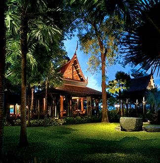 방콕 샹그릴라 방콕 살라팁 타이 레스토랑
