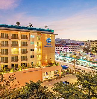 푸켓 3성급 베스트 웨스턴 파통 비치 호텔 (Best Western Patong Beach)