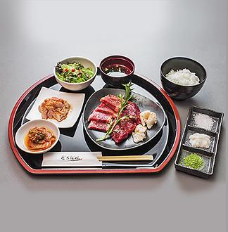 오사카 제로하치 야키니꾸 점심 정식 세트