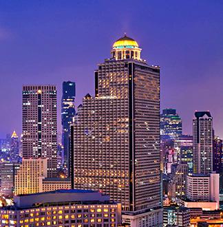 방콕 5성급 르부아 앳 스테이트 타워 호텔 (Lebua At State Tower)