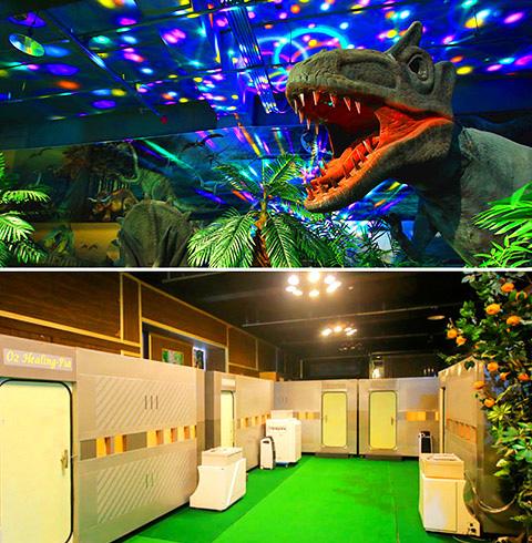제주 공룡동물농장+산소힐링피아+인체의신비
