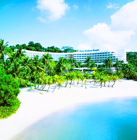 싱가포르 5성급 샹그릴라 라사 센토사 리조트 (Shangri - la s Rasa Resort / Sp)