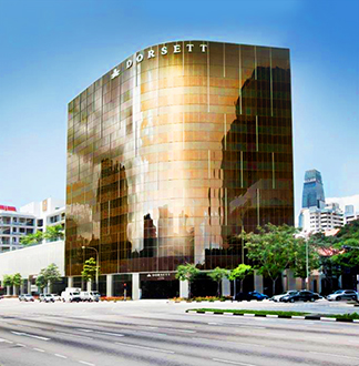 싱가포르 4성급 도셋 호텔 (Dorsett Hotel)
