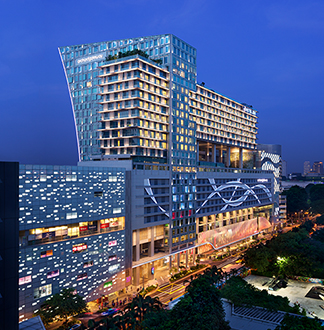 싱가포르 4성급 젠 오차드 게이트웨이 호텔 (Hotel Jen Orchard Gateway)
