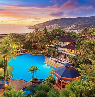 푸켓 5성급 다이아몬드 클리프 리조트 (Diamond Cliff Resort & Spa)