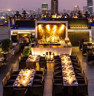 방콕 반얀트리 버티고 디너 레스토랑