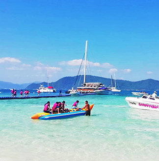 푸켓 산호섬 1일 투어 + 스피드보트 (픽업/샌딩 포함)