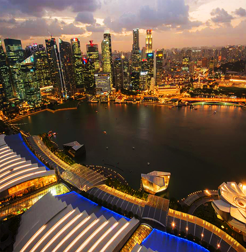싱가포르 마리나베이샌즈 스카이파크 전망대 입장권 티켓