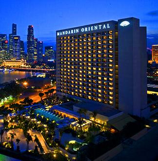 싱가포르 5성급 만다린 오리엔탈 호텔 (Mandarion Oriental)