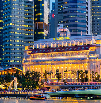 싱가포르 5성급 더 풀러턴 호텔 (The Fullerton hotel Singapore)