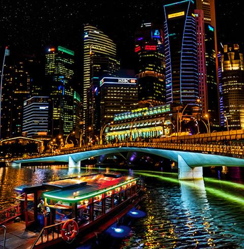 싱가포르 클락키 리버크루즈 탑승권 티켓