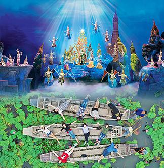 방콕 단독택시 연꽃정원 + 시암니라밋 쇼 1일 투어 (픽업/샌딩 포함)