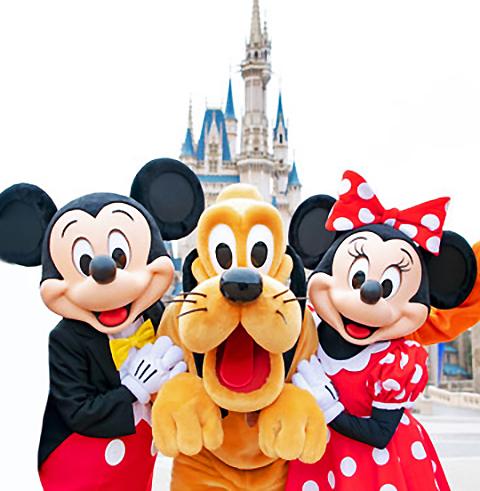 일본 도쿄 디즈니랜드, 디즈니씨 입장권
