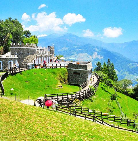 대만 타이중 칭징농장 칭칭초원 + 작은 스위스 정원 입장권