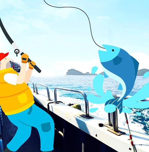 제주 어부 배낚시 체험권