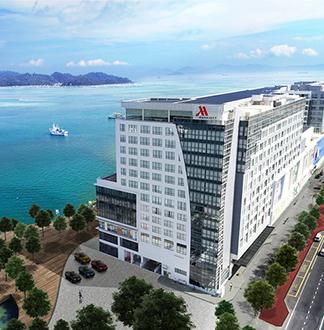 코타키나발루 5성급 매리어트 호텔 (Marriott Kota kinabalu)