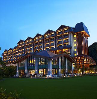 싱가포르 5성급 에쿠아리우스 호텔 (Equarius Hotel)