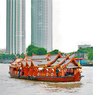방콕 완파 디너크루즈
