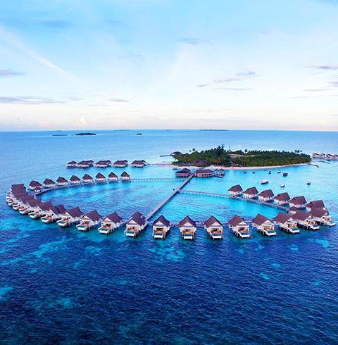 몰디브 센타라 그랜드 아일랜드 3박4일 (Centara Grand Island Resort)