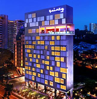 싱가포르 4성급 퀸시 호텔 (The Quincy Hotel)