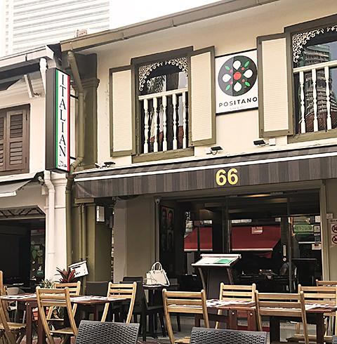 싱가포르 부기스 포지타노 레스토랑 리조또 세트 이용권 티켓