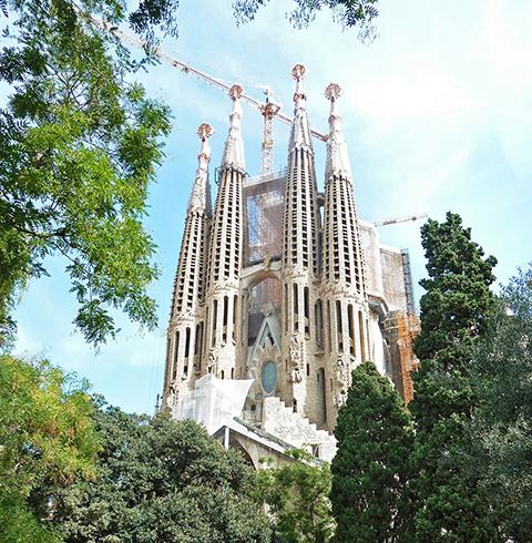 스페인 바르셀로나 사그라다 파밀리아 성당 입장권